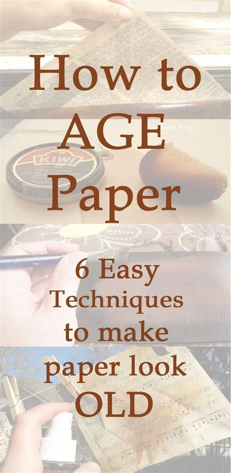 How To Make Paper Look With Coffee - scrappin it how to age paper 6 easy technique to make