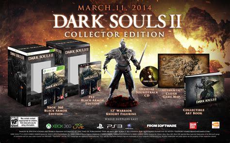 Souls 1 2 Limited Edtion Artbook souls ii bomb