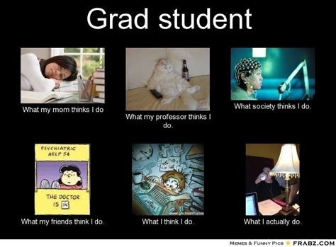 Student Meme - graduate school memes grad student meme generator what i do counselor in the making