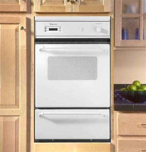 Magic Chef 9112VUV 24 Inch Single Gas Wall Oven with Lower