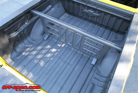 truck bed divider 2015 chevy colorado z71 trail boss review off road com