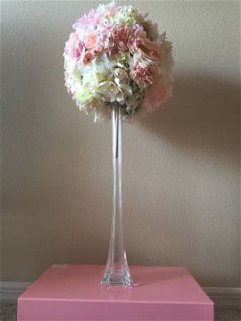 Eiffel Tower Flower Vases by Clear Eiffel Tower Vases With Flower Tea Time Creations