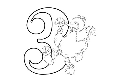coloring page of the number 3 coloring pages for kids number three quot 3 quot coloring pages