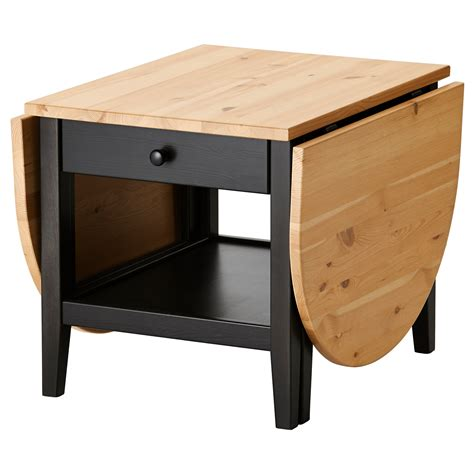 Desk Coffee Table by Arkelstorp Coffee Table Black 65x140x52 Cm