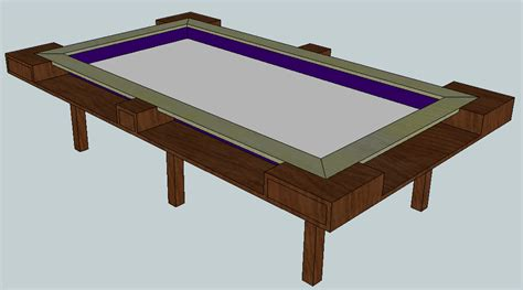 custom gaming table custom built table boardgamegeek boardgamegeek