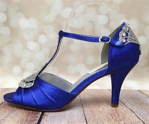 Wedding Shoes In Blue by Royal Blue Wedding Heels