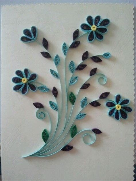 how to make quilling greeting cards quilled greeting card quilling