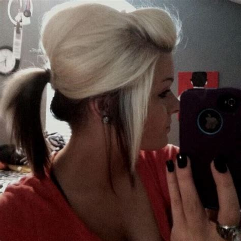 hair light on top and dark on the bottom white hair about the face pinterest white hair