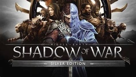 Middle Earth Shadow Of War Silver Edition Reg 3 Ps4 middle earth shadow of war silver edition k 248 b til