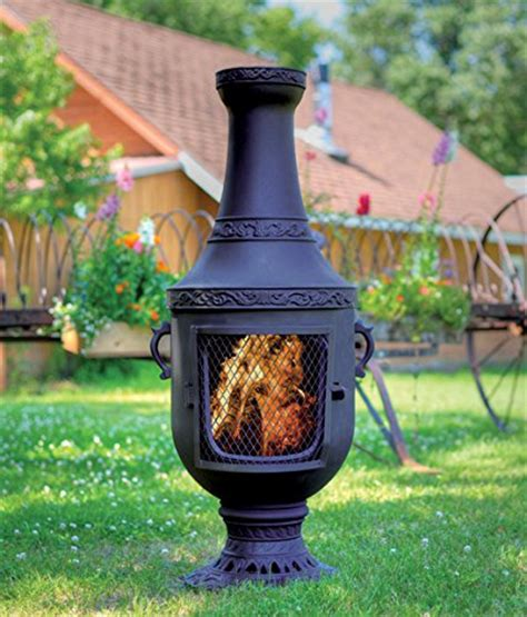 Quality Chiminea The Blue Rooster Cast Iron Venetian Chiminea Best Prices