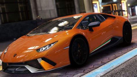 How To Spawn Lamborghini In Gta 5 Gta 5 Lamborghini Huracan Performante Mod Gtainside