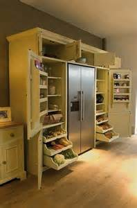 Kitchen Cabinets Around Refrigerator Great Cabinets Around Fridge Decorating