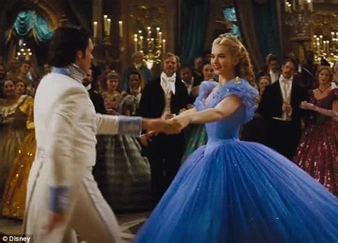 cinderella film year cinderella trailer shows first meeting with handsome