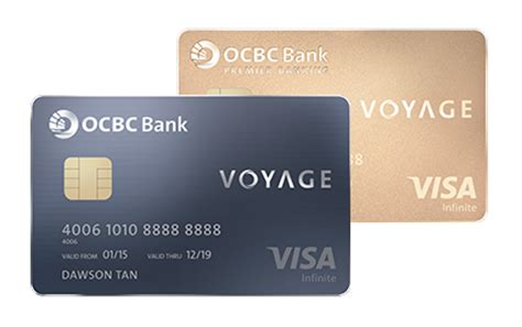 Ocbc Credit Card Application Form Malaysia Voyage Visa Infinite Card Ocbc Singapore