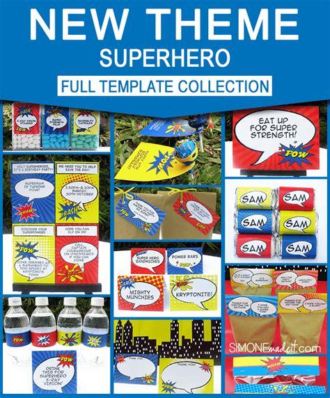 26 superhero birthday invitation templates free sample