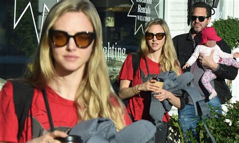 amanda seyfried family amanda seyfried is in la with her newly formed family