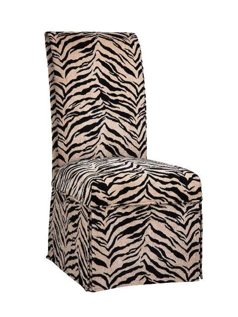 parsons chair  zebra parsons chair pinterest