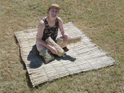 Tule Mat by Construction Of A Tule Mat Sleeping Pad Indigenous