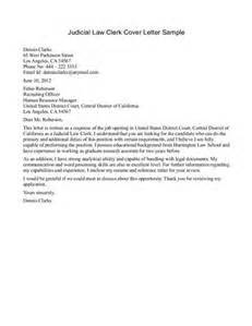 Judicial Assistant Cover Letter by Clerk Cover Letter Letter Of Recommendation