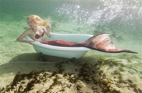 mermaid in a bathtub mermaid