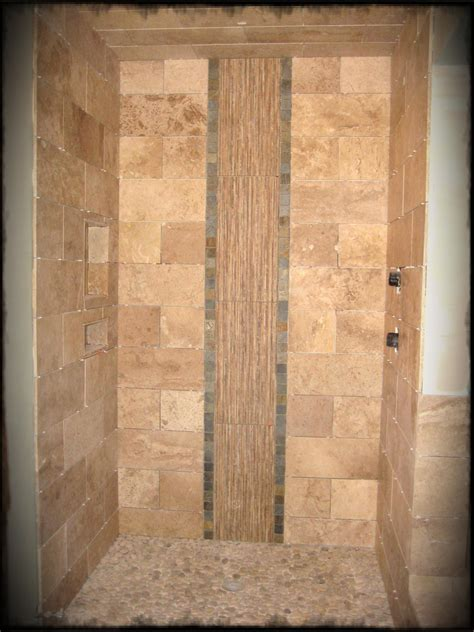 30 cool ideas and pictures custom bathroom tile designs photos hgtv earth toned walk in tile shower loversiq