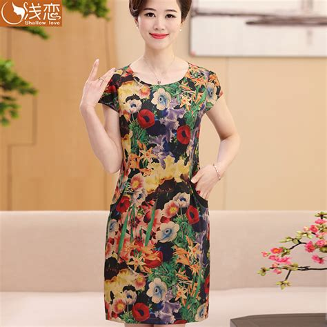 summer dresses for women age 60 older women dress clothes 40 years old 50 middle aged