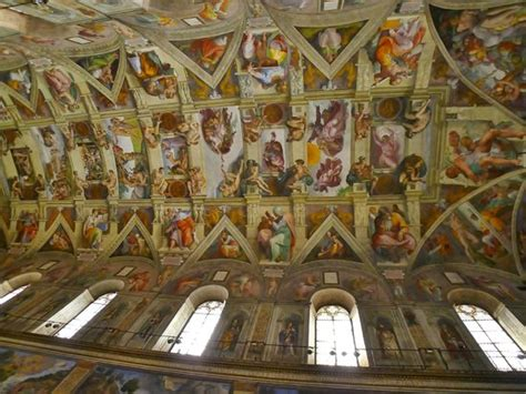 Sistine Chapel Ceiling Adam And by Up Of Quot Last Judgement Quot With At The Center