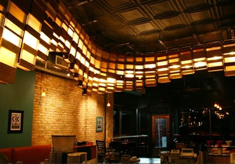 coffee shop lighting guide grit tank s eco lighting installation through a milwaukee coffee shop