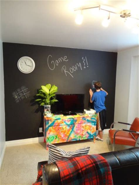 game room decorating ideas walls chalkboard walls game rooms and chalkboards on pinterest