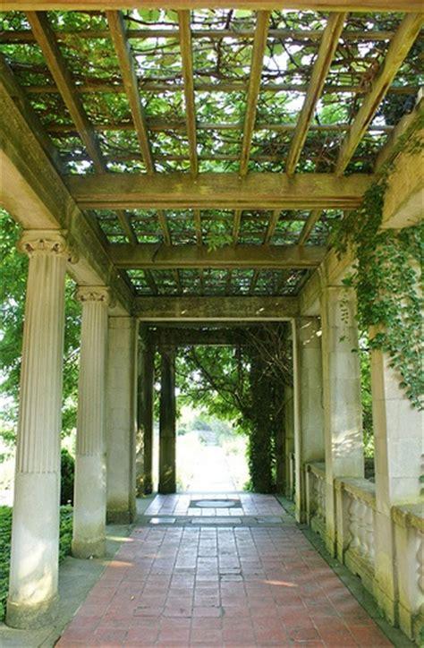pergola with stone columns pergola pinterest