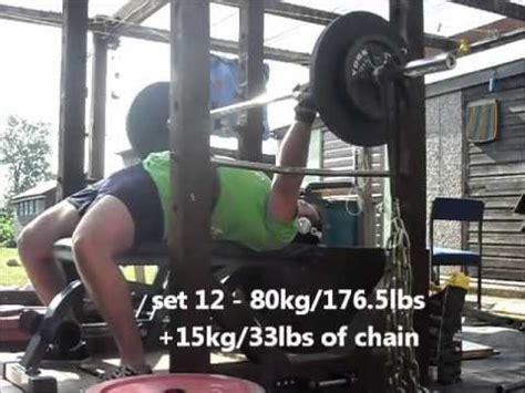 dynamic effort bench powerlifting training log 19 july 13 westside barbell