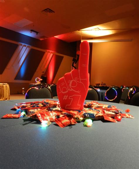 Sports Themed Centerpieces Party Planning Pinterest Sports Theme Centerpieces