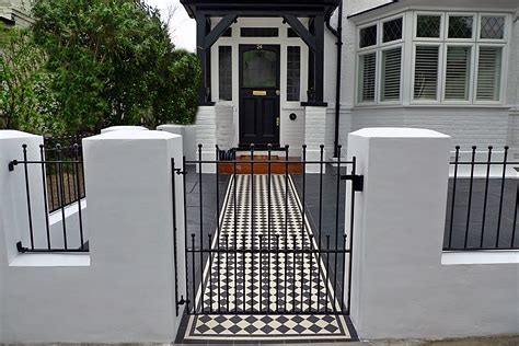 garden walls and gates front garden render block wall and gate with victroain