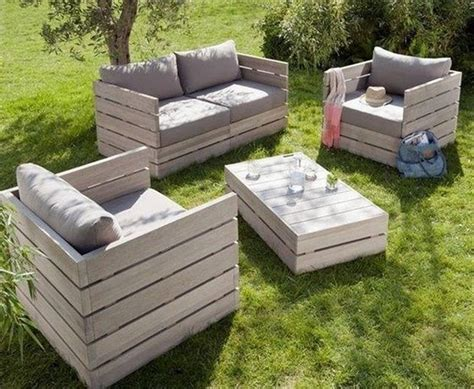 Patio Furniture From Pallets Pallet Idea Pallet Ideas Wooden Pallets Pallet