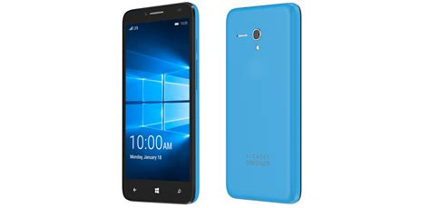 world mobile phone alcatel onetouch announces new windows 10 phone coming