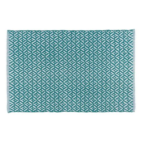 teal kitchen rugs now designs teal 24 in x 36 in woven kitchen mat nod23442 the home depot