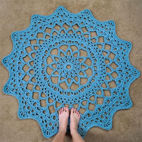 crochet a rug crochet spot 187 archive 187 crochet pattern doily rug