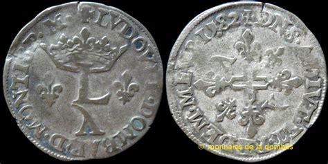 Ecu Mba Course Descriptions by Monnaies De La Dombes Louis Ii De Montpensier 1560 1582