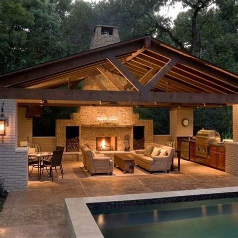 Imagenes De Fachadas De Quinchos Small House Plans With Outdoor Kitchen