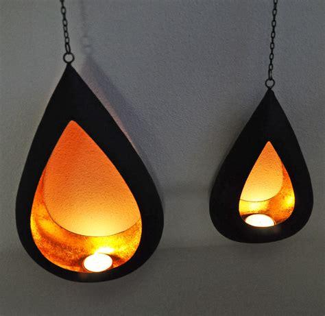 teelichthalter metall teelichthalter set tropfen metall gold schwarz callunacasa