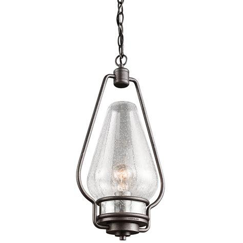 Kichler Lighting 49094avi Hanford Rustic Lodge Log Cabin Pendant Lights