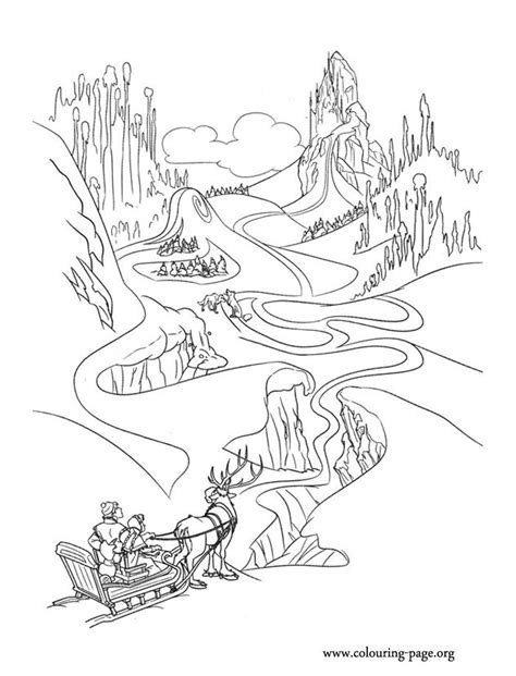 ice castle coloring page ice castle frozen coloring page www pixshark com
