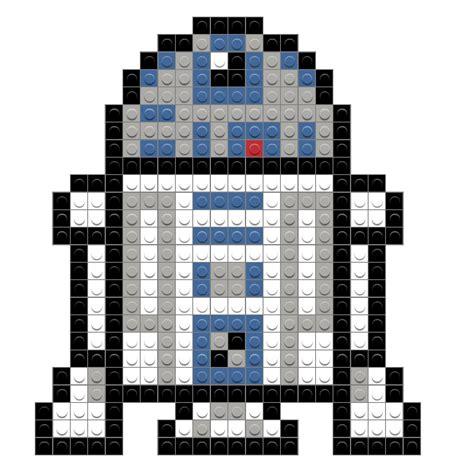 pixel wars star wars r2 d2 brik
