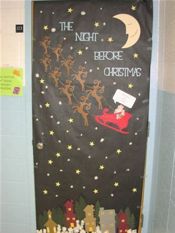 office christmas door decorating ideas office christmas