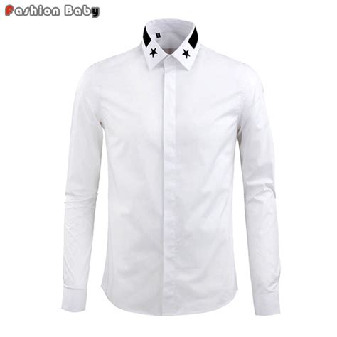 Embroidered Shirt Kemeja aliexpress buy s embroidery collar cotton