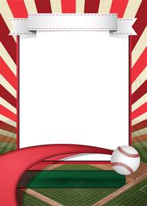 Baseball Template by Baseball Card Template Mockup Andrea S Illustrations