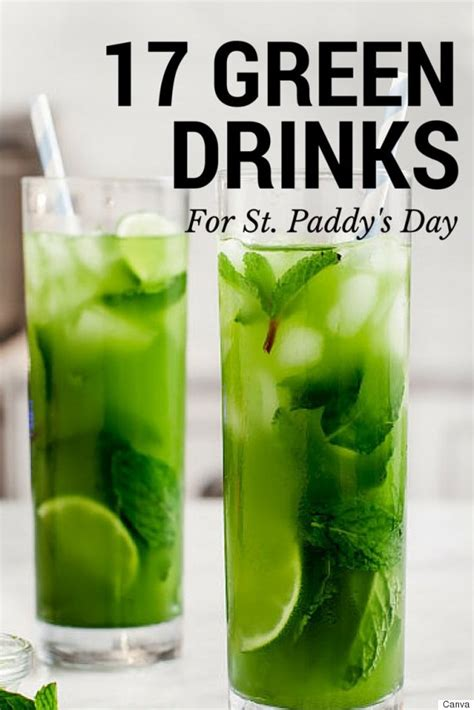 green cocktail green drink recipes 17 delicious recipes for st