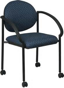 stc3440 office star stacking chair with casters