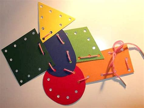lacing card templates lacing cards for preschool crafts