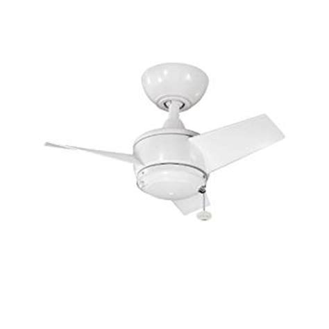 24 Inch Ceiling Fan With Light Kichler Lighting 310124wh Yur 24 Inch Ceiling Fan